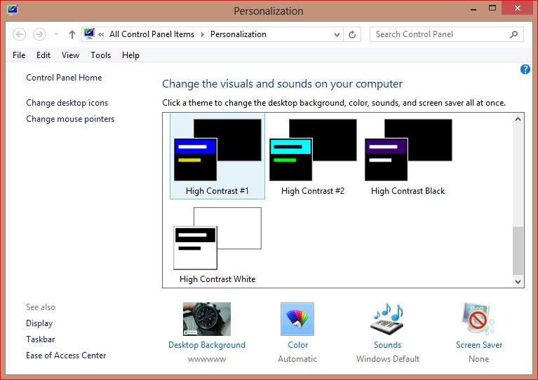 desktop personalization - membuat windows 8 transparant